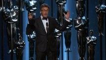 Filmmaker just shut down the Oscars wrap-it-up music like a boss