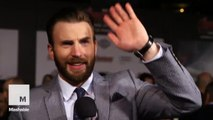 Captain America at the Avengers: Age of Ultron premiere