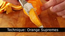 Food Wishes Recipes - How to Make Orange Supremes - Technique for Orange Supremes
