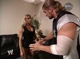 WWE Smackdown 7/27/00 Triple H Gets Busted With Trish Stratus Backstage by Stephanie Mcmahon