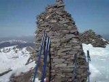Cantal: Skis rando chavaroche et puy mary
