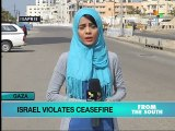 New Israeli Ceasefire Violations in Gaza