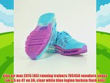 nike air max 2015 GS running trainers 705458 sneakers shoes uk 35 us 4Y eu 36 clear white blue legion fuchsia flash 400