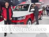 Weltpremiere des neuen Bulli: Der Volkswagen T6