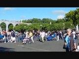 Lourdes in France - Ave Maria of Lourdes