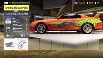 FH2: 1400+ HP Paul Walker Toyota Supra build & top speed!