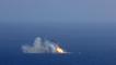 L' atterrissage raté du premier étage de la fusée Falcon 9