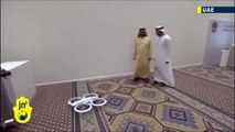 Drone Delivery Service UAE Dubai Flying Robots To Carry Government documents