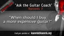 """""""Ποτε ειναι η σωστη στιγμη να αγορασω μια πιο καλη/ακριβη κιθαρα?"""" - (Ask the Guitar Coach, ep 07)"""