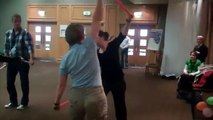 Disability Sport - Twin Sticks Exercise