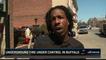 Une interview à la télévision américaine interrompue par une explosion