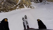 L'impressionnante descente de Léo Taillefer en ski