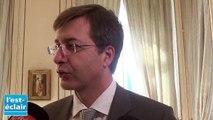 """La réaction d' Éric Vuillemin, maire de Romilly-sur-Seine : """"C'est un choc  pour Romilly"""""""
