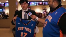 Jeremy Lin LIN-Sanity amongst Madison Square Garden fans 林書豪瘋蔓延全球