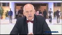 Janusz Korwin-Mikke - Wywiad dla WP i spór z Piotrem Dudą (16.04.2015)