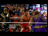 Vladimir Kozlov,Goldust,Santino & Khali vs  Regal,Ryder,Primo & Doink The Clown