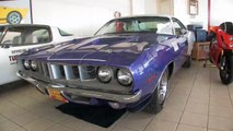 1971 Plymouth Cuda 383 for sale with test drive, driving sounds, and walk through video