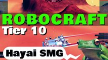 Robocraft Designs - Tier 10 SMG match 'Hayai SMG'  [Amar McLegend]
