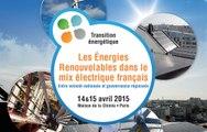 Ségolène Royal ouvre le Colloque ADEME : énergies renouvelables dans le mix électrique Français