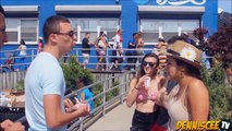 How to Kiss a Stranger - Kissing Prank (Card Trick) - Kissing Strangers - Making Out with Strangers