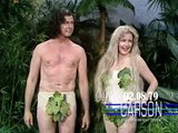Betty White & Johnny Carson in Funny Skit as Adam and Eve on Johnny Carson's Tonight Show, 1979