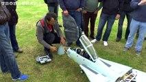 LARGE SCALE FLY EAGLE GRUMMAN F14 SWINGWING TOMCAT - RUDI  WESTON PARK RC MODEL AIRCRAFT SHOW 2013