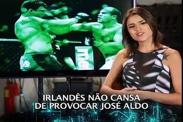 Com luta marcada, clima esquenta entre Aldo e McGregor