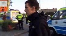 Invandrare jagar bort AFA från Rosengård - Upplopp med polisen - 2009-08-22(OBS: Läs texten)