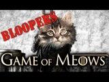 Game Of Thrones (Cute Kitten Version Bloopers)