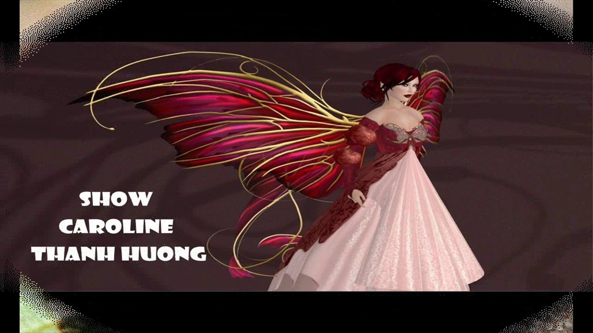 Nanh Trắng, thơ truyện, show Caroline Thanh Hương.