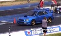 Muscle Vs Import Mustang Gt 5 0 And Subaru Wrx Sti Video