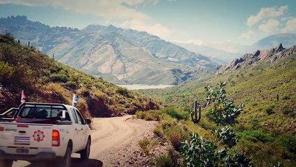 Trophée Roses des Andes 2015 JT vidéo N°3 / Salta - Cafayate