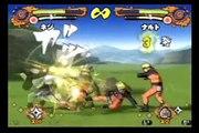 Naruto Shippuuden: Narutimate Accel: TS Neji vs TS Naruto