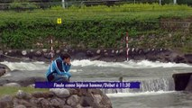 Course n°2 Demi-Finale - Finale Pau 2015 Canoë Biplace Hommes et Kayak Dames Kayak Homme
