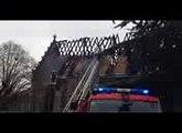 Les pompiers étaient encore a pied d'oeuvre ce vendredi matin à Saint-Martin-le-Beau.