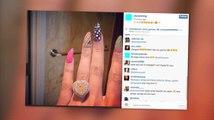 Nicki Minaj montre sa bague de fiançailles