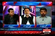 Express News Takrar Imran Khan with MQM Ali Raza Abidi (15 April 2015)
