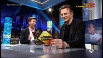 Liam Neeson en El Hormiguero 3.0- 'Te voy a pegar dos yoyas que te van a temblar las orejas' (1)