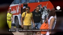 euronews question for europe - Bus and coach passenger rights