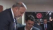 MHP Grup Başkanvekili Vural İzmir'de