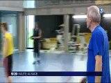 Reportage France 3 Alsace sur l'équipe de France scolaire de basket qui part au Mondial scolaire de Limoges