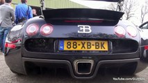 Bugatti Veyron w_ Mansory Exhaust vs Bugatti Veyron Grand Sport