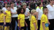 Un rêve d'enfant : Oksana, Escort Kid lors de la finale de la Coupe de la Ligue
