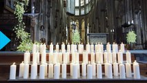 Germanwings Crash Victims Remembered With Candles and Angels