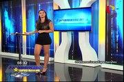 Se juntaron el fin de semana: Mario Hart y Alejandra Baigorria animaron show