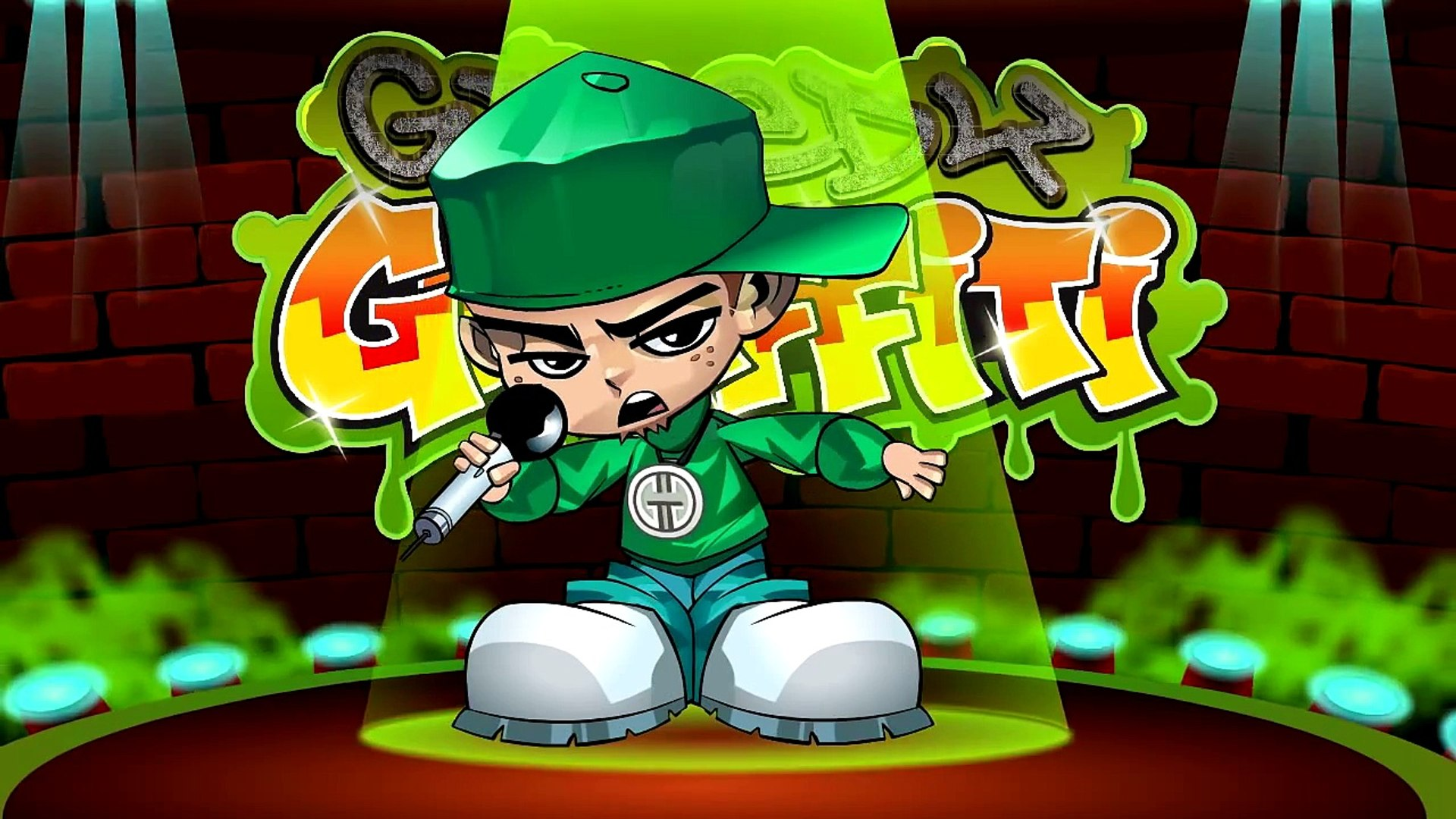 Funny song - MUFFIN TOPS - animated rap music video parody by comedy rapper Greedy Graffiti