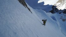 Mont Dolent voie Charlet et Goulottes Variantes Chamonix Mont-Blanc alpinisme