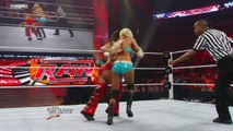 Raw: Kelly Kelly vs. Nikki Bella - Raw Roulette Submission