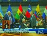 Unasur celebra su aniversario con la inauguración de la Escuela Suramericana de Defensa