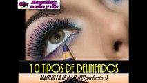DELINEADO DE OJOS |  ¡10 Tipos Diferentes! Delinea tus ojos bien